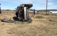 Two injured in rollover from Bram Fischer Airport towards Maselspoort, BFN