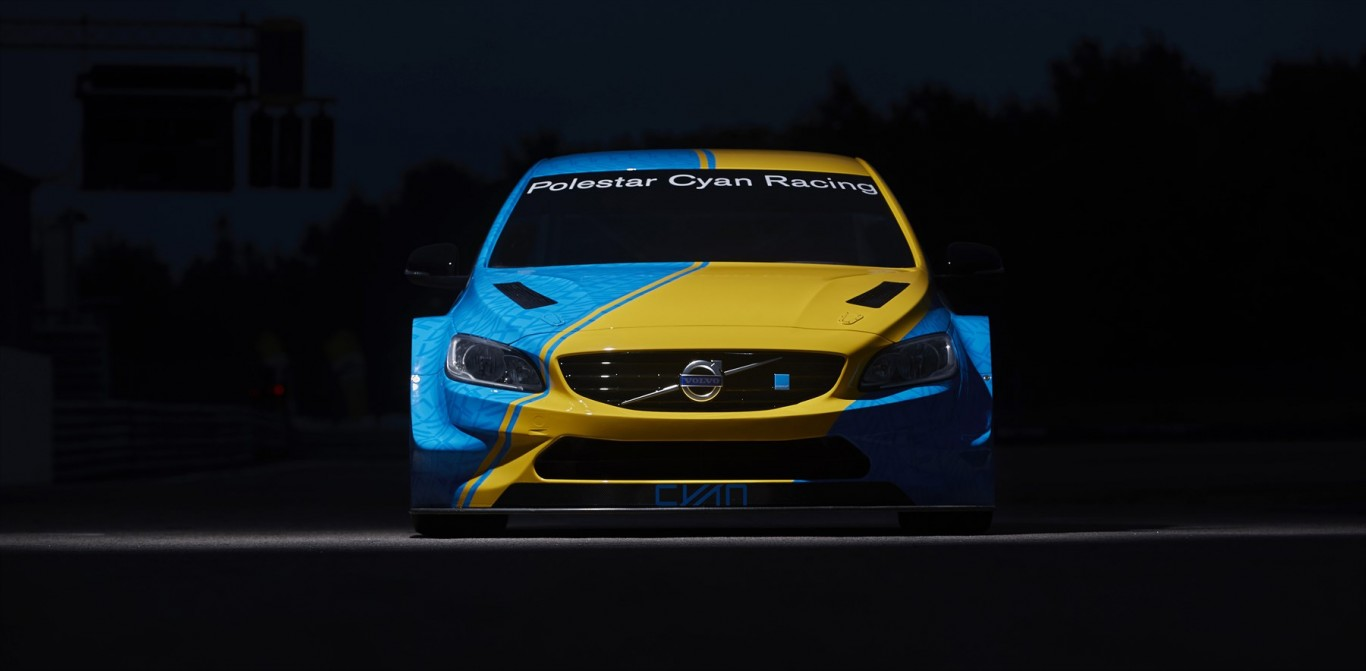Unveiling the Volvo S60 Polestar WTCC Art Car by Bernadotte & Kylberg