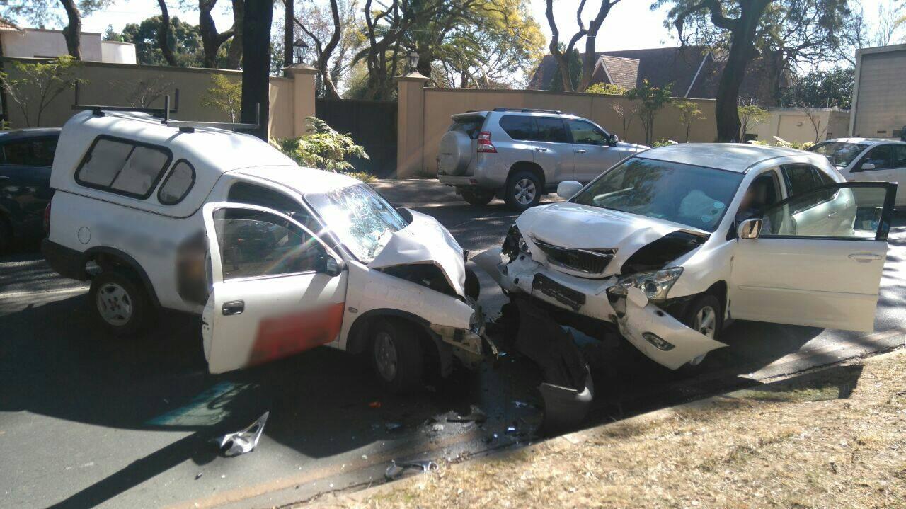 Head-on collision in Saxonworld