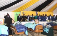 KZN Transport MEC attends mass funeral of 11 road crash victims in Harding