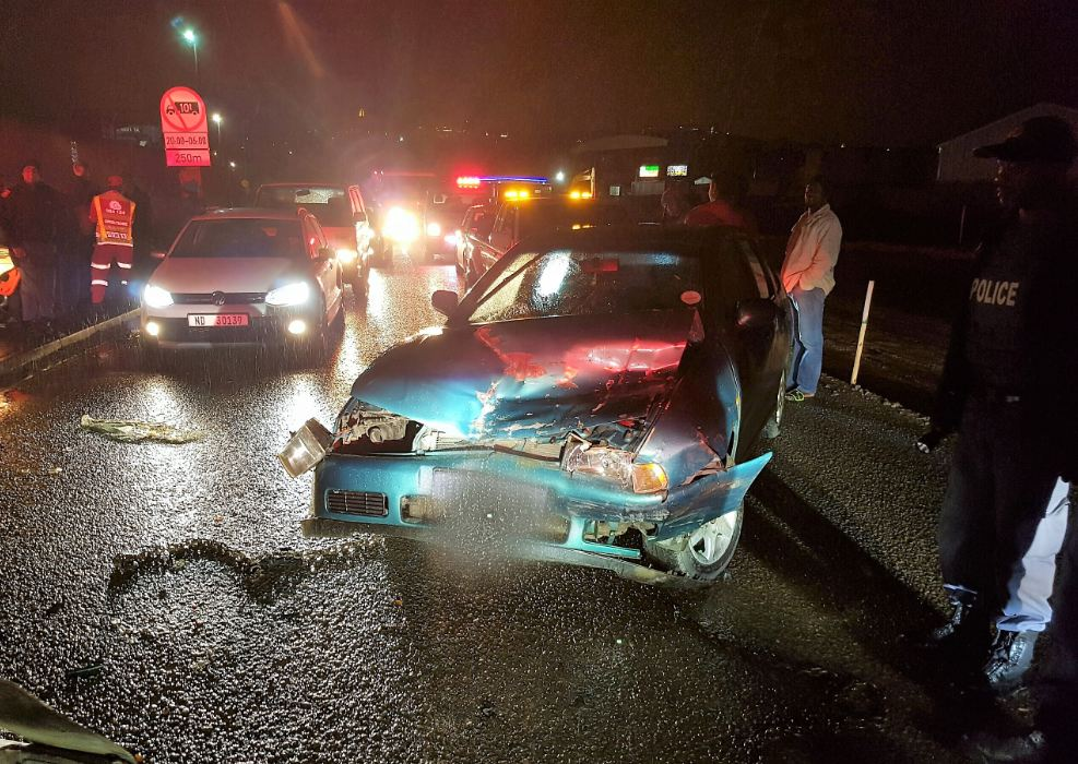 Six injured in rear- end collision on Booth Road in Cato Manor