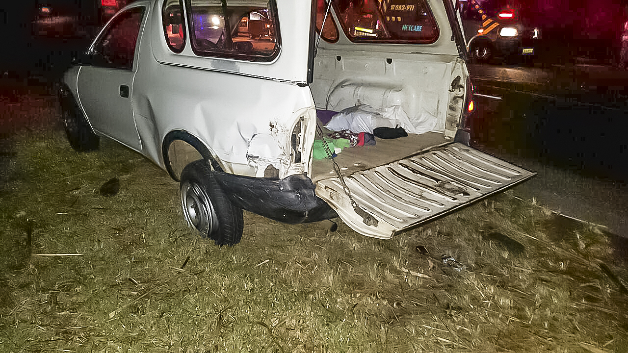 Collision on the R102 near Compensation on the KZN North coast