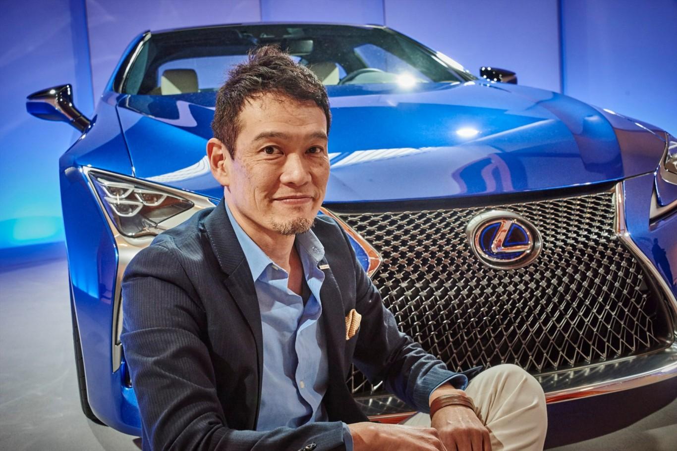 Design team detail development of all-new Lexus LC Coupe