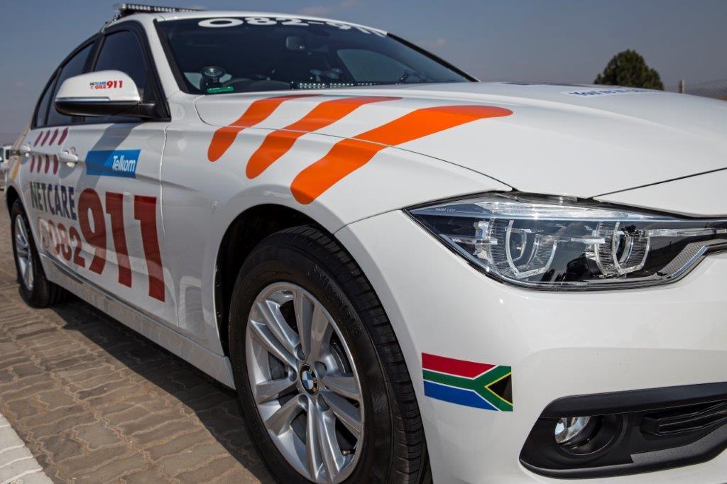Pretoria side-impact crash leaves man fighting for his life