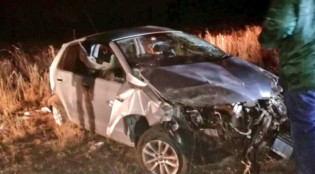 Driver escapes with minor injuries in Stilfontein rollover crash
