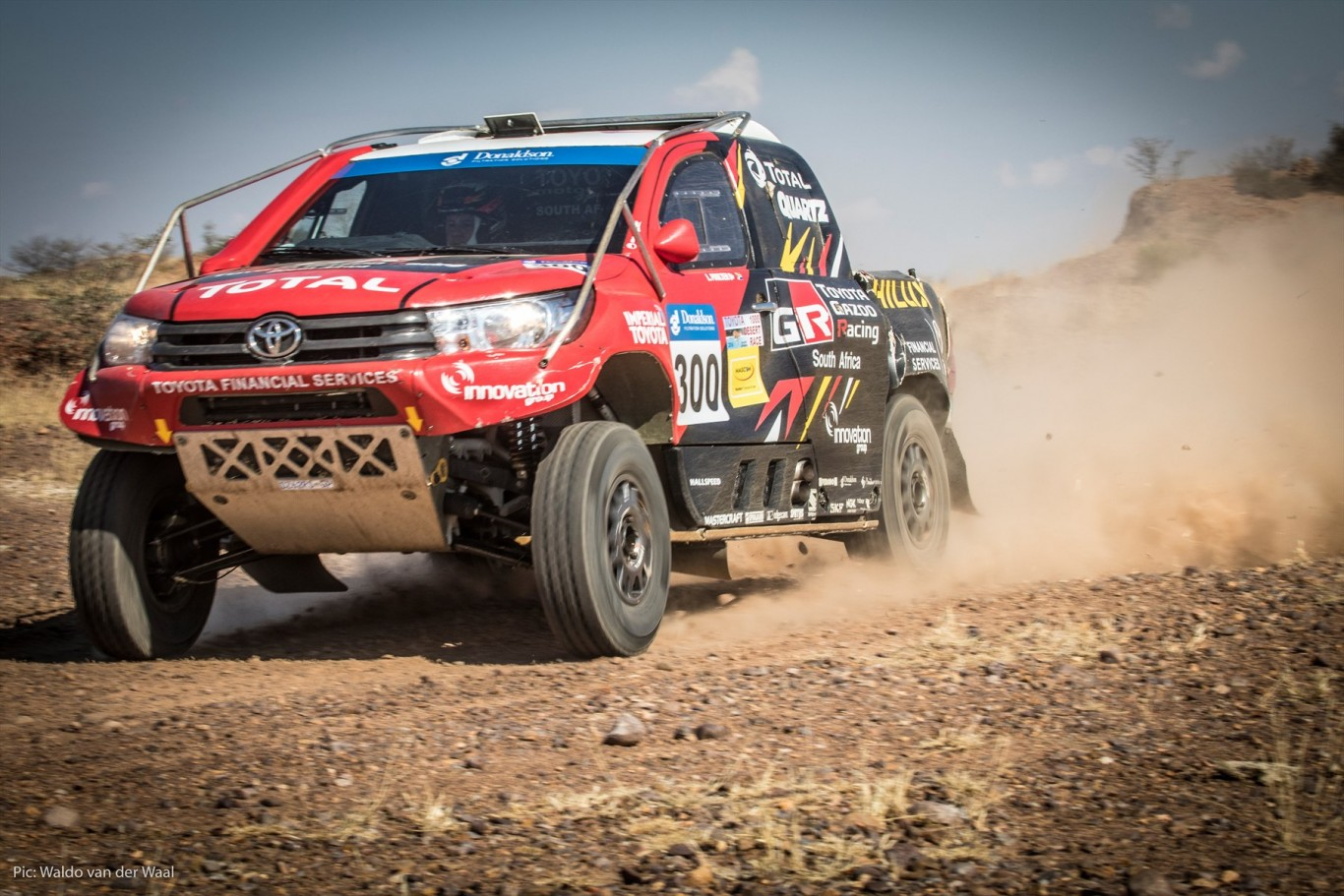 All systems go as Toyota Gazoo Racing SA rackles Lichtenburg 450
