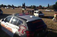 Three injured after minibus rolls after losing wheel