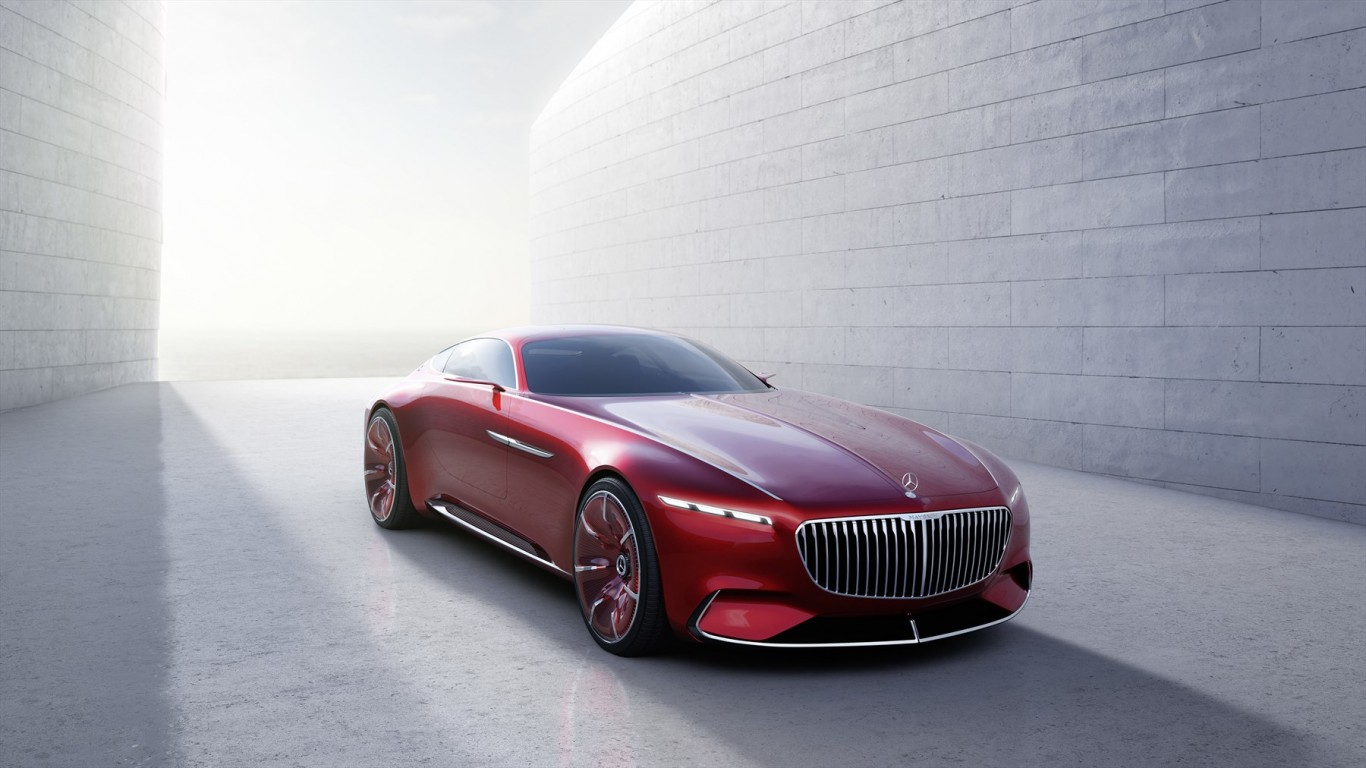 The ultimate in luxury: Vision Mercedes-Maybach 6