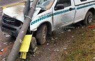 3 Injured in crash in Westville