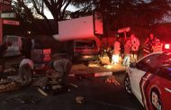 Delivery van and car collide injuring two, Blairgowrie.