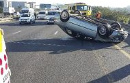 Two cars and truck collided on Queen Nandi Drive