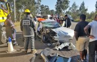 Two injured in Pinetown head-on collision