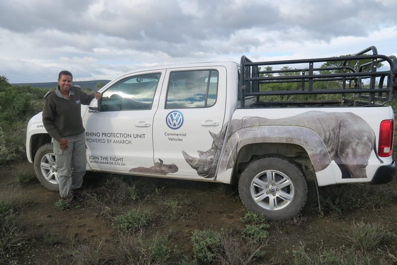 'Rhino Whisperer' receives a Forever Wild sponsored Amarok