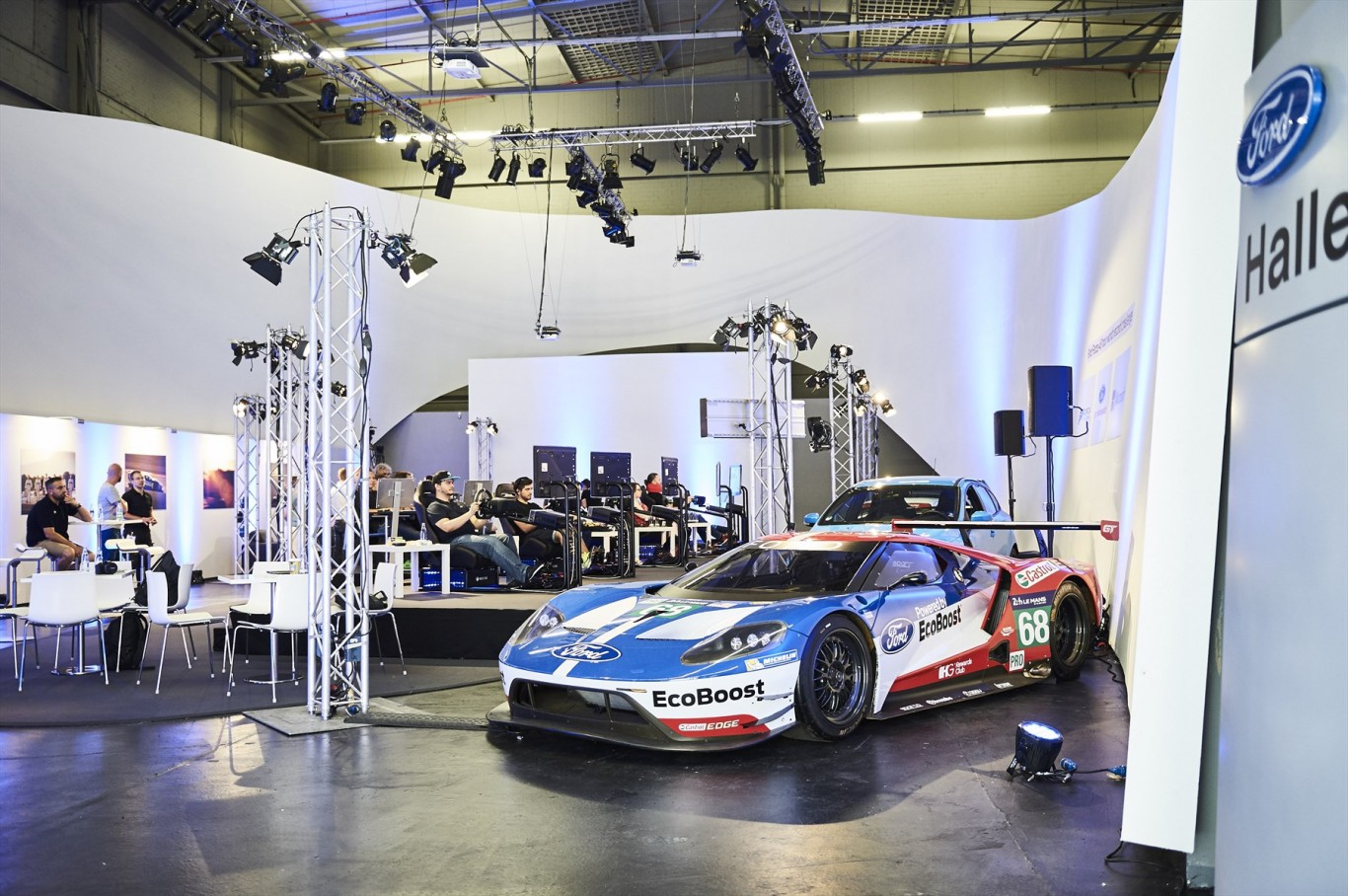 Longest video marathon on a racing game with Ford GT in Forza Motorsport 6
