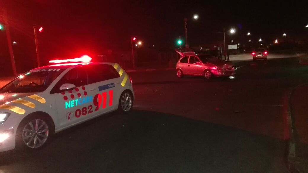 Three injured in collision in Ikageng, Potchefstroom.