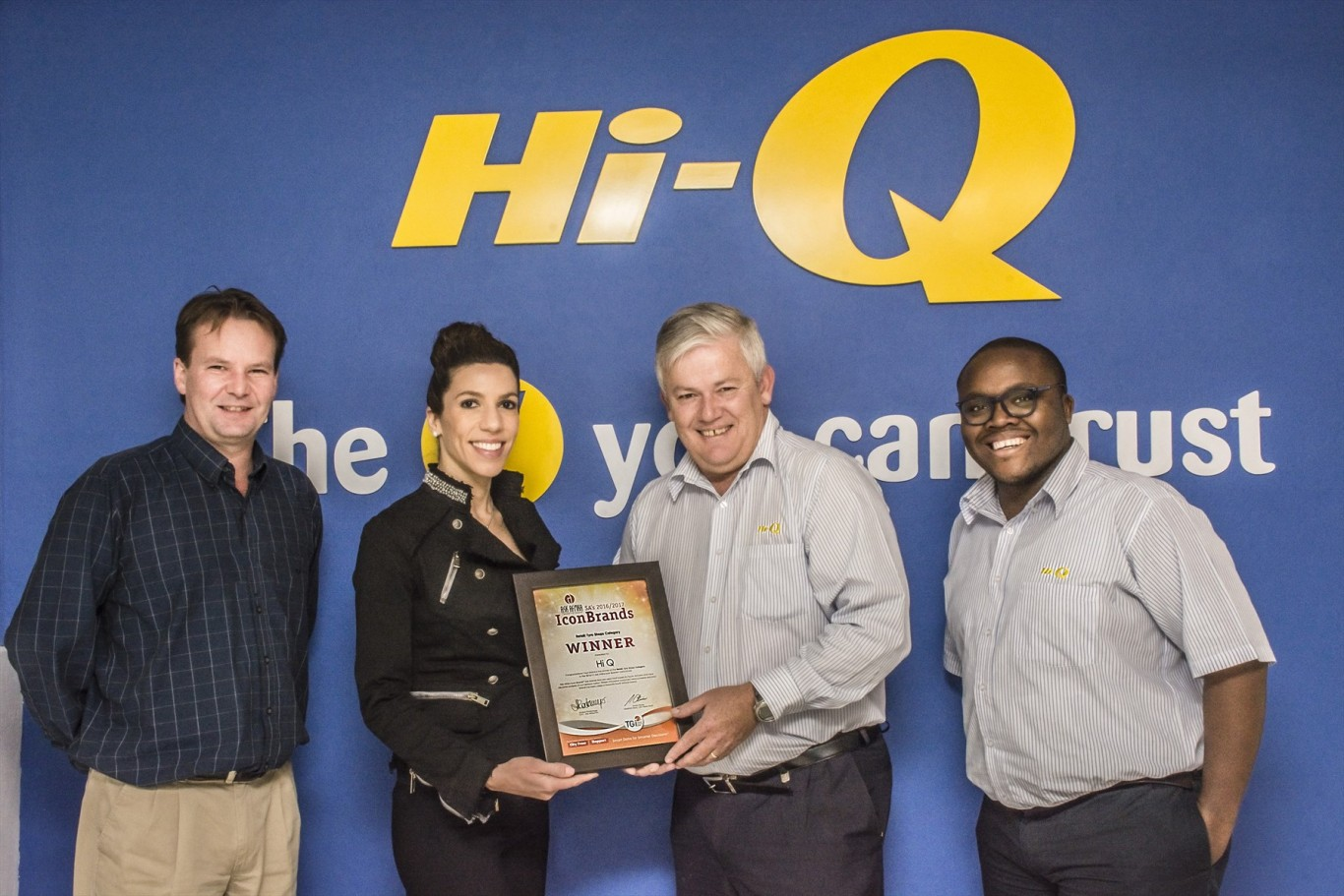 Hi-Q voted South Africa's No.1 Tyre Retailer in Icon Brands Survey