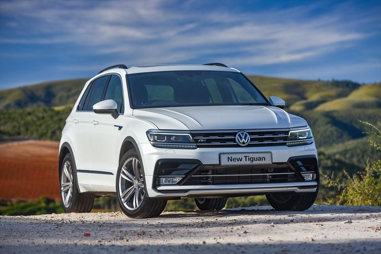 New Tiguan: First Sports Utility Vehicle based on MQB sets standards in design, comfort and convenience