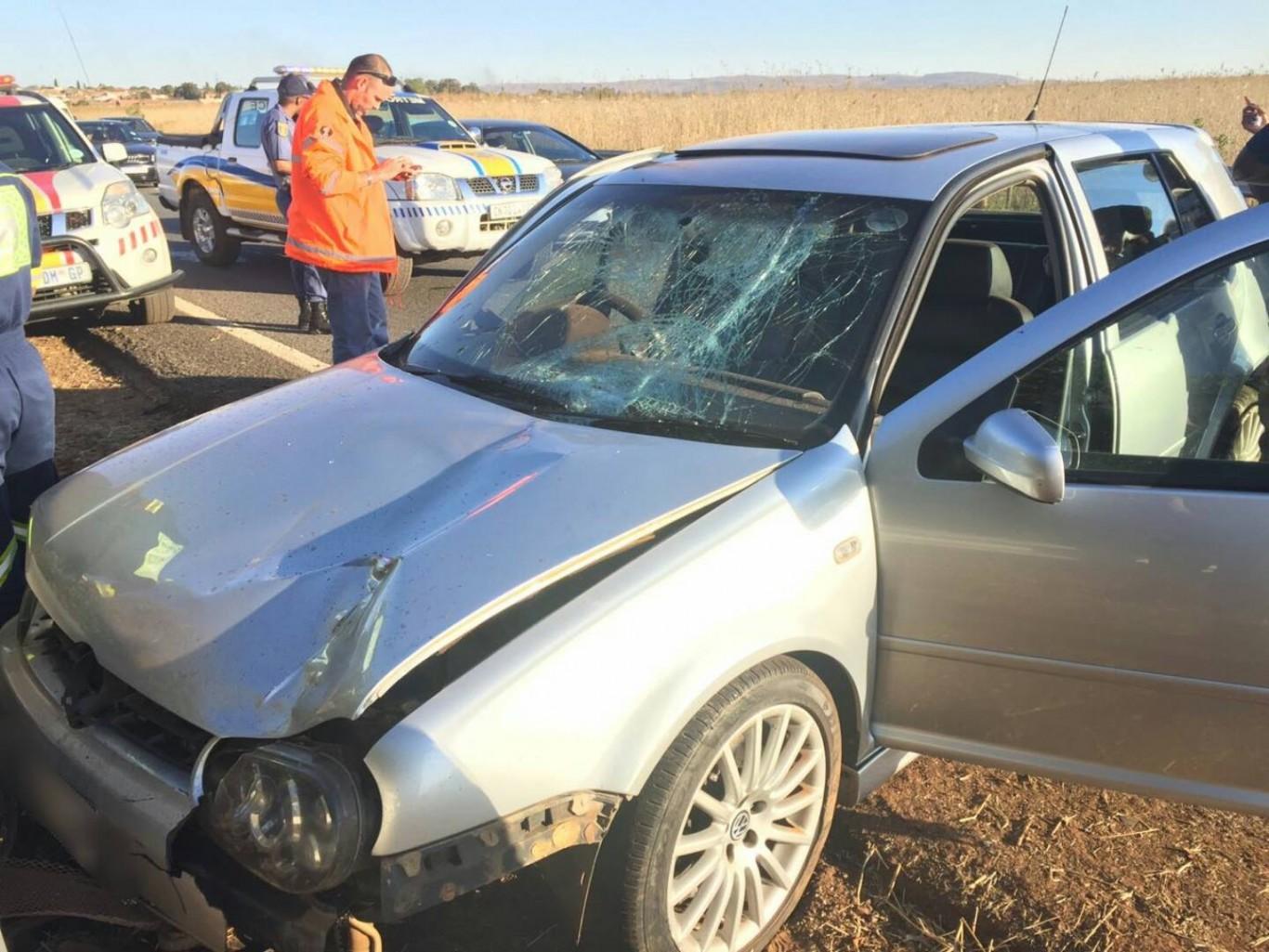 Pedestrian killed in collision on the N3 North between Leondale and Heidelberg, Vosloorus.