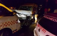 13 injured in taxi crash in Wiggins Road, Cato Manor