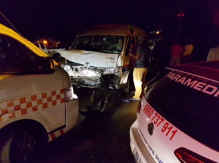 Potchefstroom crash leaves 16 injured