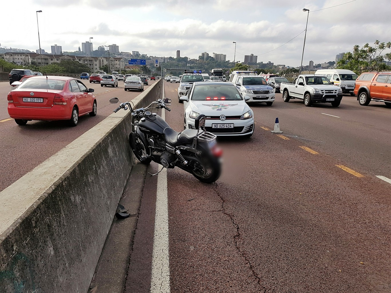 Bikers injured in collision