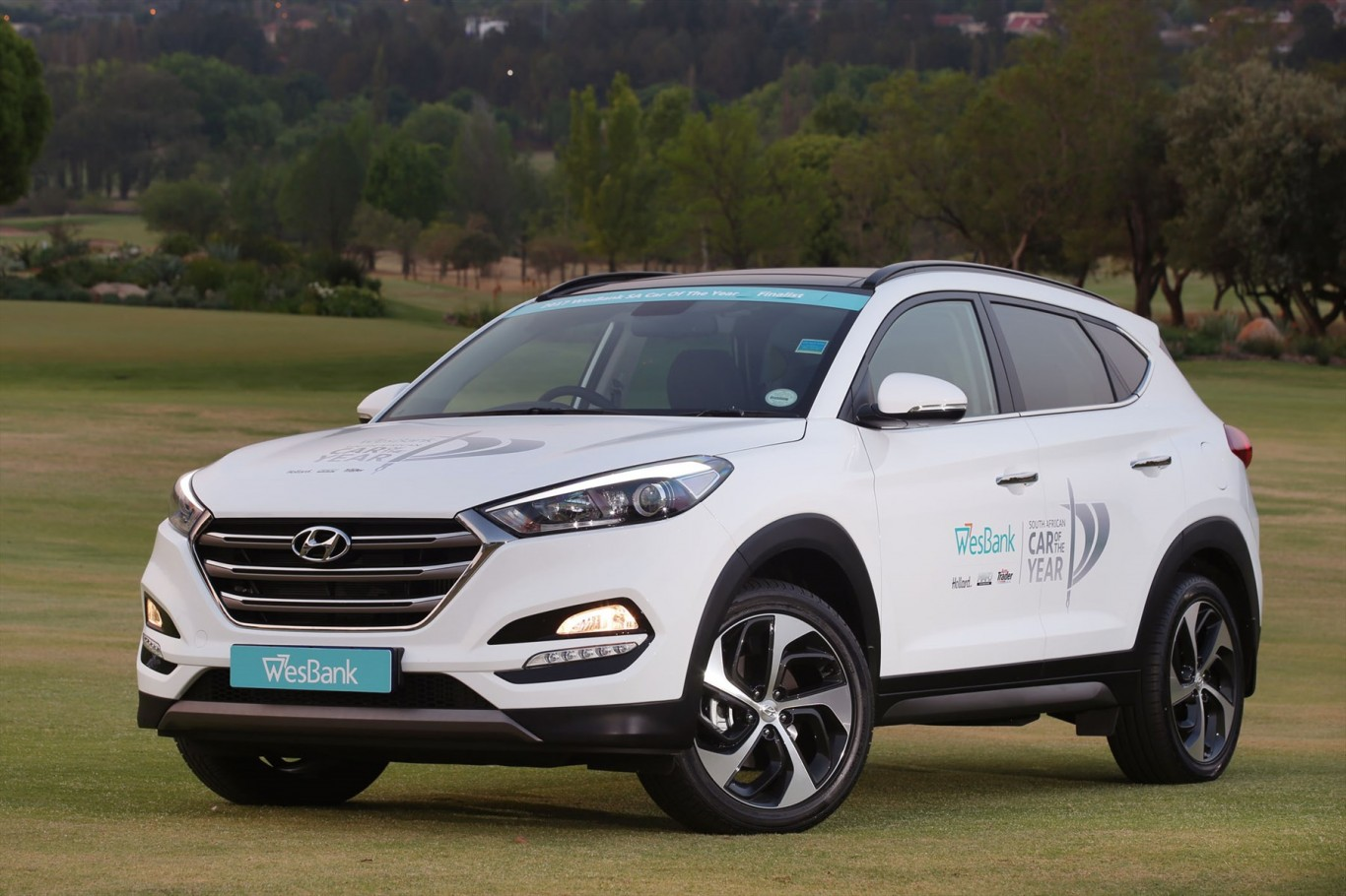 Hyundai Tucson is a finalist for Car-of-the-Year prize