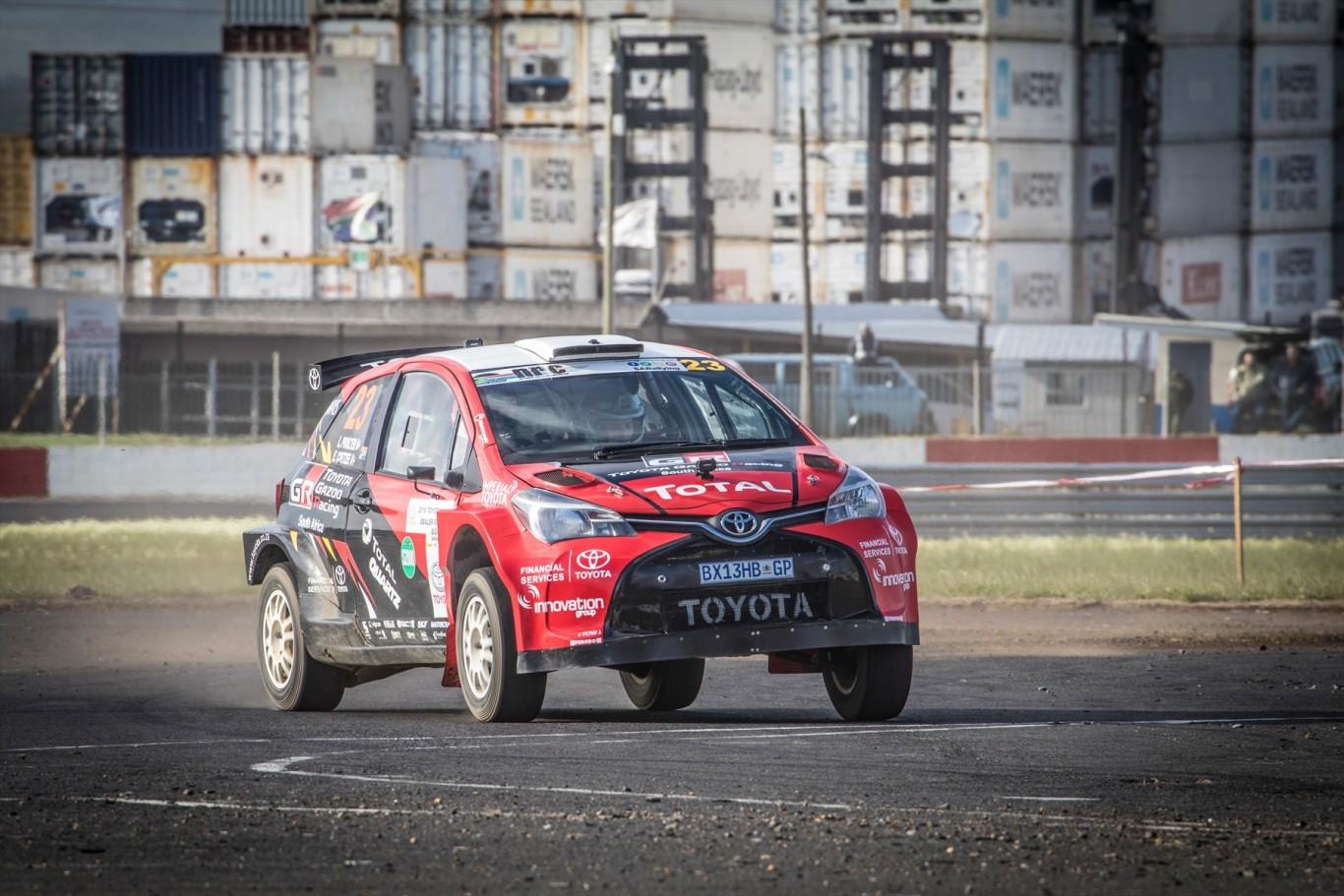 Championship and event victory for Toyota in Cape Rally