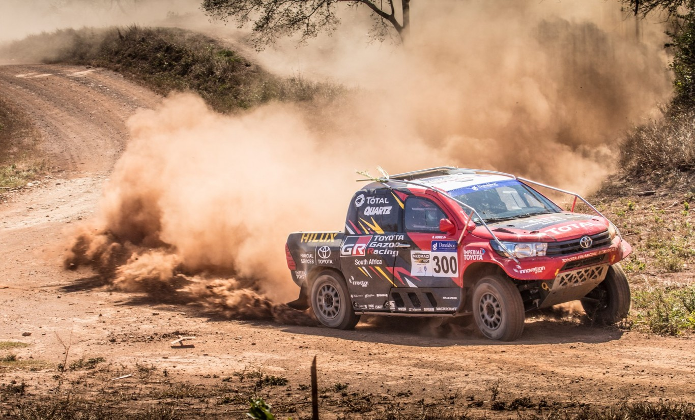Toyota Hilux Evo prepared for first race this weekend, the Sun City 450