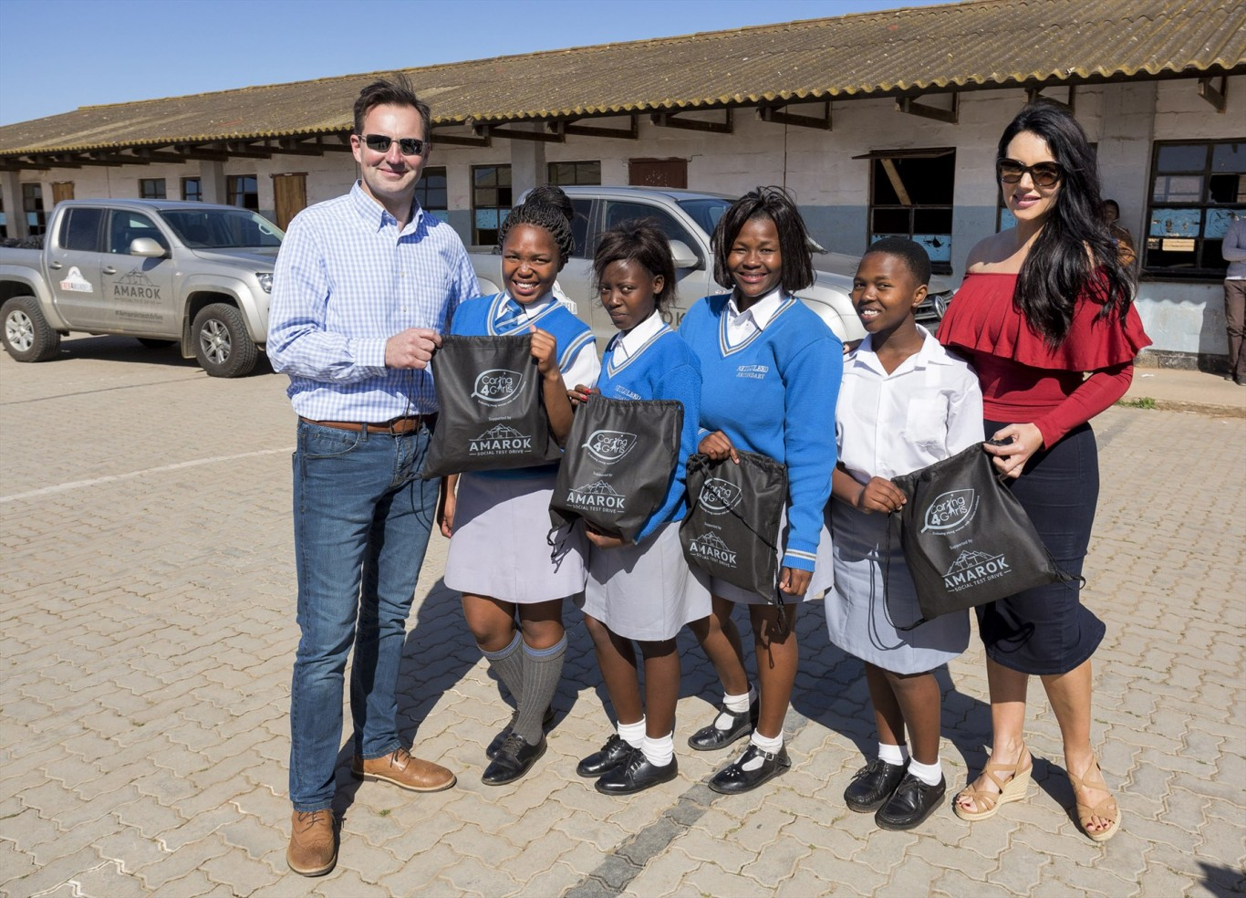 Amarok helps to change lives of young girls