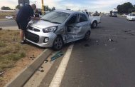 T-bone collision at an intersection in Nooitgedacht