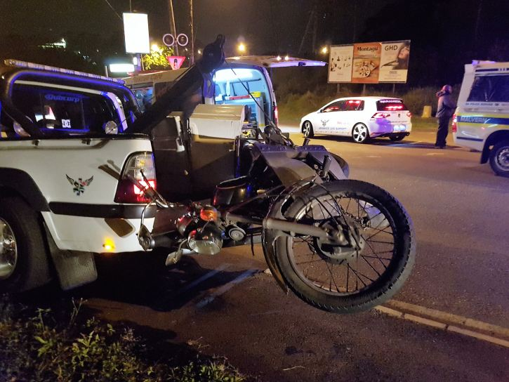 2 Injured in bike crash in Escombe