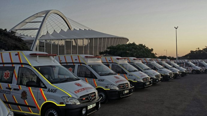 25 people, including children injured due to crash between 2 bakkies, Umbumbulu, Durban
