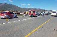6 people injured in 4 vehicle collision on R60 outside Robertson, WC