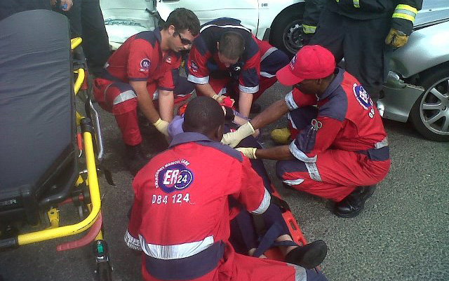 A nine-month pregnant woman was critically injured in an apparent hit and run - Randburg