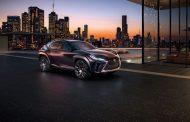Lexus UX Concept premieres