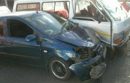 Three people injured in a taxi collision Jeppestown