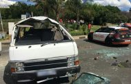 Taxi and SUV collision leaving 11 people injured Hurlingham
