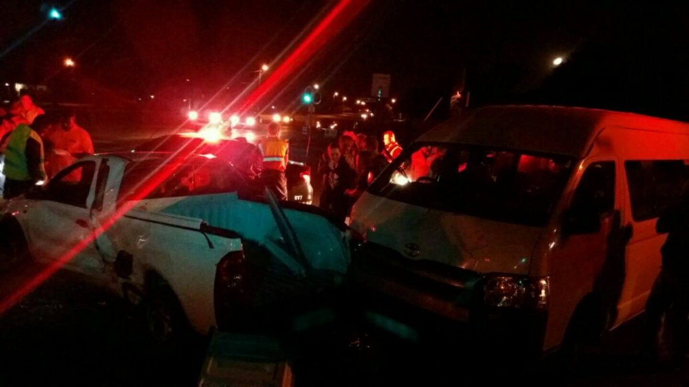 Vehicle rollover leaves arm of driver trapped under vehicle