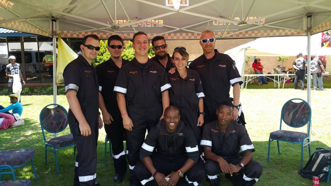 EMER-G-MED provided expert medical support for the 2016 annual Gauteng Toyrun.
