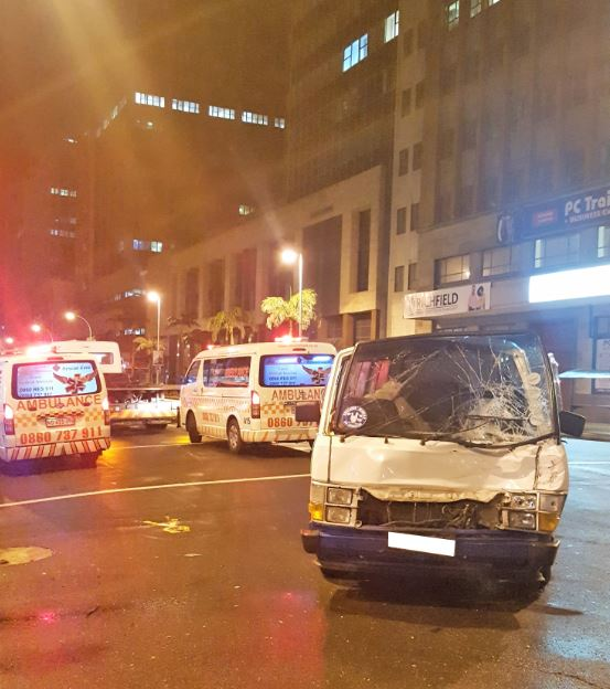 Taxi crashes into car and a barrier on the M1 North after Marlboro Drive