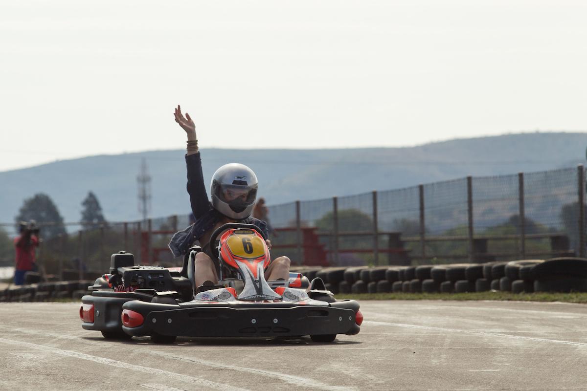 sarah-karting-finish