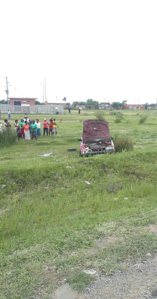 Toddler dies after a vehicle overturned on the R73 in Welkom,  Free State.