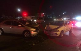 Collision in the R101 and Uitsig Roads in Rooihuiskraal, Centurion.