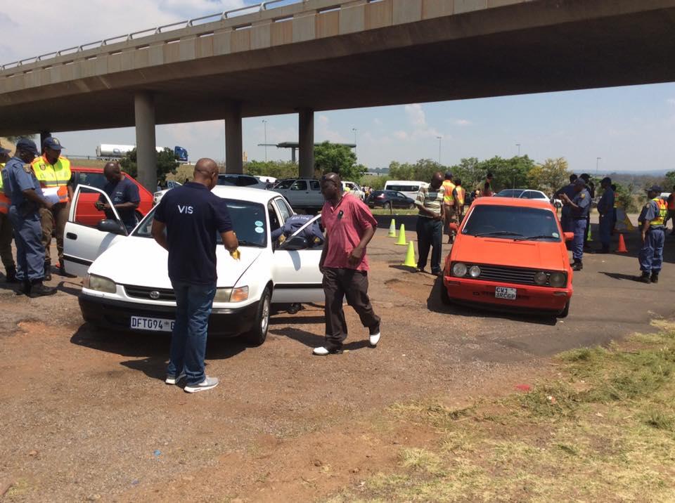 Roadblocks held for a Safer Festive Season across Gauteng