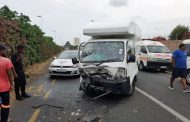 Five injured in head on collision on Waterkant Road in Durban North