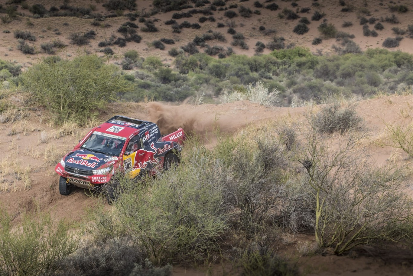 De Villliers and Von Zitzewitz maintain position on penultimate stage of Dakar 2017