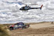 Strong performance by De Villiers and Von Zitzewitz on Stage 7 of Dakar 2017