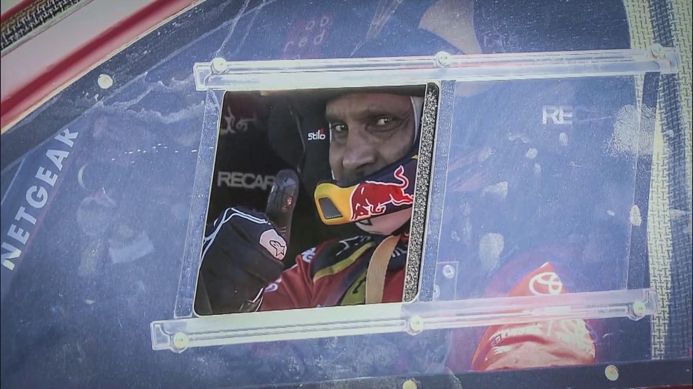 Solid performance by Toyota Gazoo Racing SA on Stage 2 of Dakar 2017