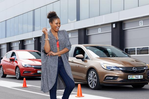 SA's celebs experience Car of the Year Finalist on Kyalami Racetrack