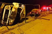 3 People injured in a  collision between a car and a runaway truck, Pretoria